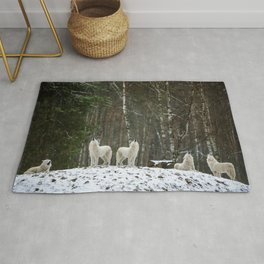 Call of the Wild - Wolf Pack Photographic Rug