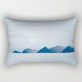 Mountains in the Mist Rectangular Pillow