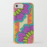 hippy iPhone & iPod Cases featuring Hippy tribal by Pooja Jeshang