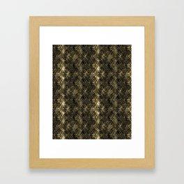 Snake skin. Framed Art Print