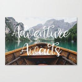 Live the Adventure - Adventure Awaits Canvas Print