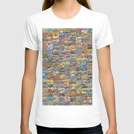 Greetings From Postcards T-shirt