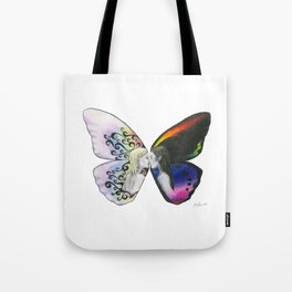 Rainbow Virgin  Tote Bag