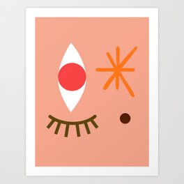 Bright Eyed & Bushy Tailed Art Print