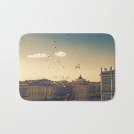 Ballons on Palace Square, St. Petersburg Bath Mat
