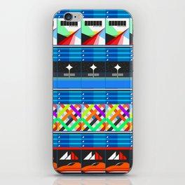 NEX GEN BLUE iPhone Skin