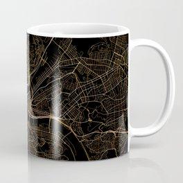 Pittsburgh map, Pennsylvania Coffee Mug