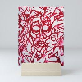 Ancestors Shamanic Lineage BloodLine Menstruation Art Mini Art Print