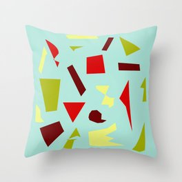 Abstract Collage 5 Throw Pillow