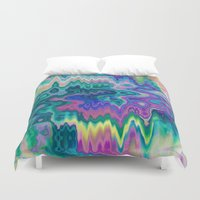 trippy Duvet Covers featuring Trippy by Dorothy Pinder