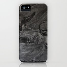 Beauty and the Bone iPhone Case