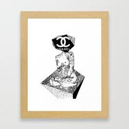 Branding Framed Art Print