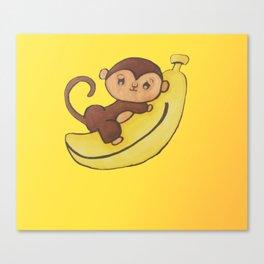 monkey 3 Canvas Print