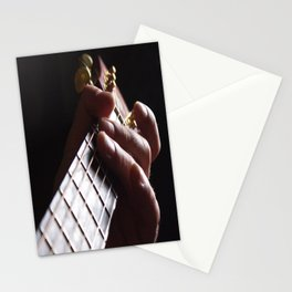 Sunset Strumming Two Stationery Cards