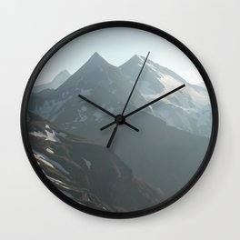 Austria's Highest Summits in the Hohe Tauern Wall Clock