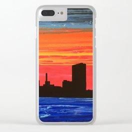 Toledo Skyline Clear iPhone Case