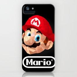 Mario Poster iPhone Case