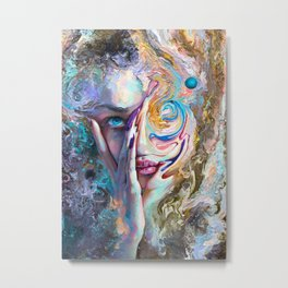 Swirling Sensation Metal Print