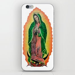 La Virgen de Guadalupe iPhone Skin