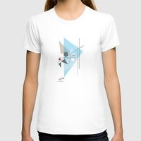 kandinsky T-shirts featuring Everything Starts with a Dot by Amy Newhouse