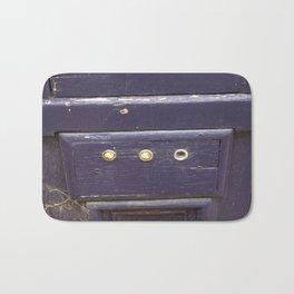 Old purple door Bath Mat