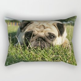 In need of a rest Rectangular Pillow