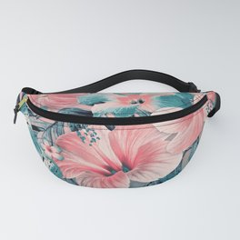 Vintage Jade Coral Aloha Fanny Pack