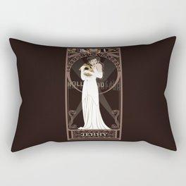 Jenny Nouveau - The Rocketeer Rectangular Pillow