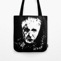 einstein Tote Bags featuring Einstein by ivaDima