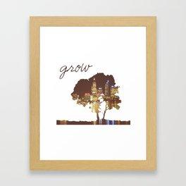 To Grow Framed Art Print