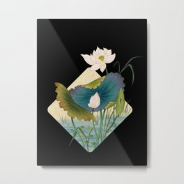 lotursflowers D : Minhwa-Korean traditional/folk art Metal Print