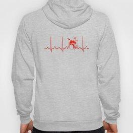 DRUMS HEARTBEAT Hoody