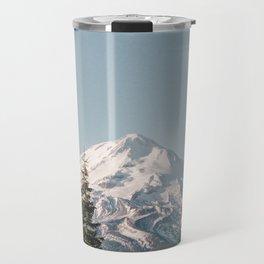 Mt Shasta Morning Travel Mug