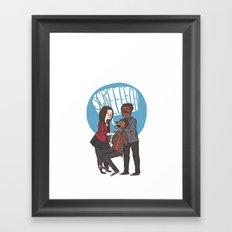 Screech Framed Art Print