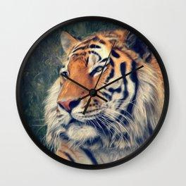 Tiger No 3 Wall Clock