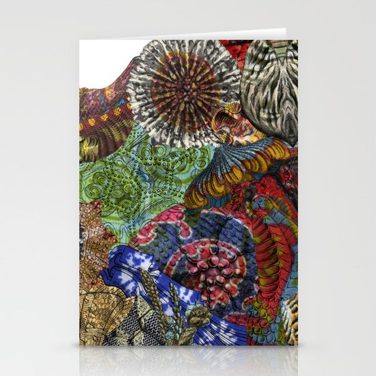 Psychedelic Botanical 3 Stationery Cards