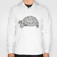 tortoise Hoodies featuring Tortoise by Carissa Tanton