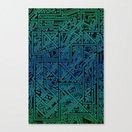 Bleen Grue Canvas Print