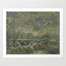 Reminiscence of Brabant Art Print