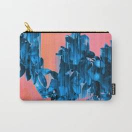 Velocious Blue Little Tree Carry-All Pouch