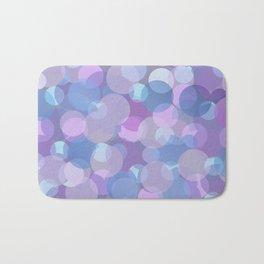 Pastel Pink and Blue Balls Bath Mat