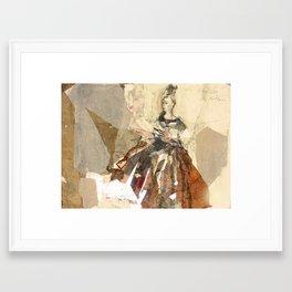 Hommage à Cranach X Framed Art Print