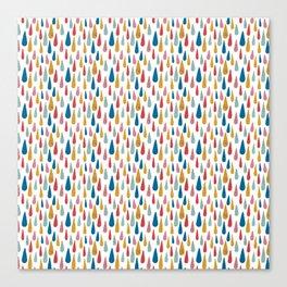 Pattern Project #6 / Happy Rain Canvas Print