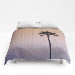 One Night One Palm Tree Comforters
