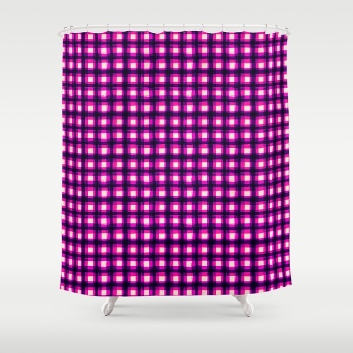 Upbeat SK8ter Chess Pattern V.16 Shower Curtain