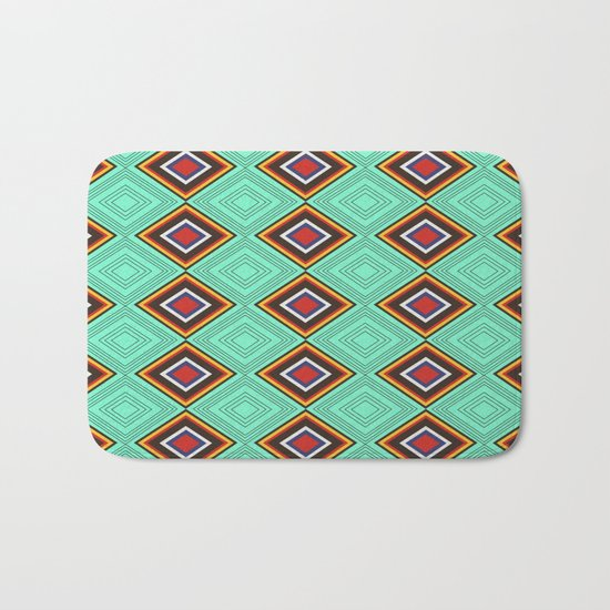 Tribal X Bath Mat