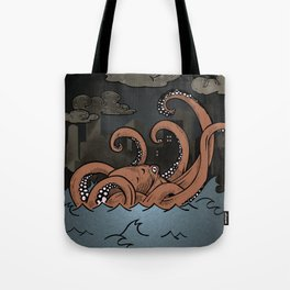 Octopi Movement  Tote Bag