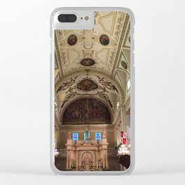 St Louis Cathedral Clear iPhone Case