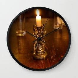 Moloughney's table Wall Clock