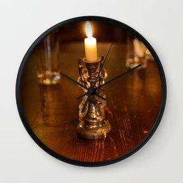 Moloughney's table Wall Clock